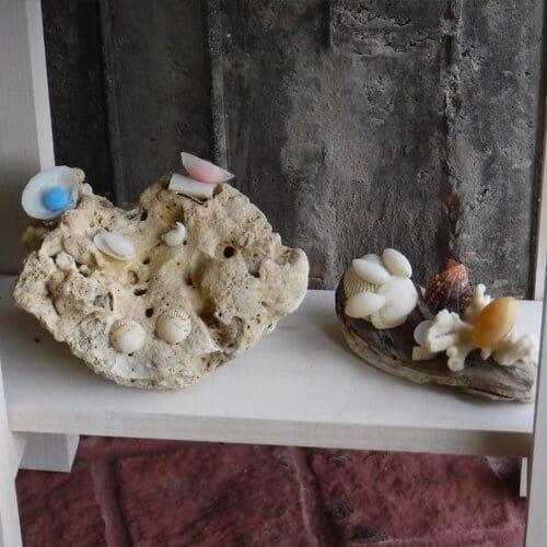 貝殻アート